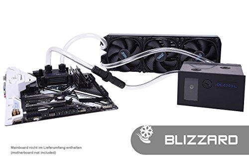 Alphacool 11473 Eissturm Blizzard Copper 45 3x120mm - Komplettset Wasserkühlung Sets und Systeme