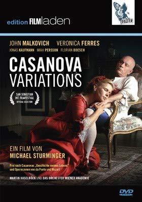 MALKOVICH, JOHN / FERRES, VERONICA / KAUFMANN, JONAS / STURMINGER, MICHAEL - Casanova Variations (1 DVD)