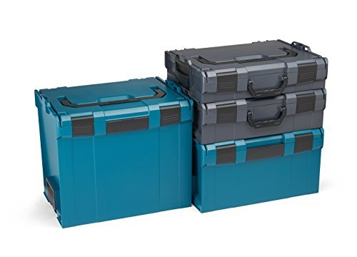 Bosch Sortimo L-BOXX Set Gr 1-4 (anthra-grün)