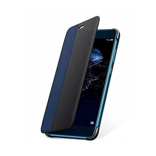 Huawei P10 Lite Custodia Flip, Interattiva, Blu