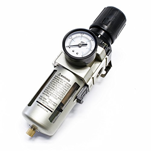 Druckluftregler Druckminderer mit Filter und Manometer 20,67 mm (1/2