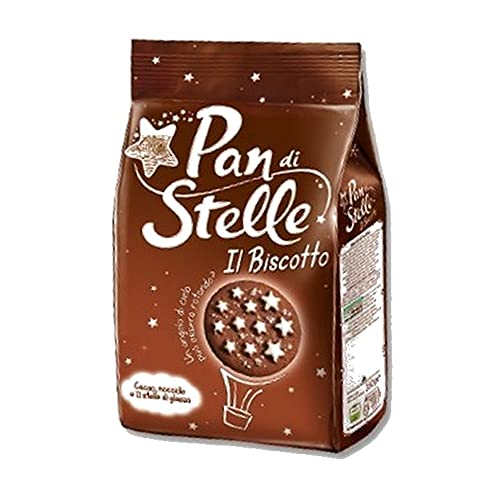 Pan di Stelle Biscotti Frollini con Cacao e Cioccolato, 350g
