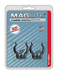 in budget affordable Maglite Black Universal Mounting Brackets for C-Cell Flashlights, 2 pcs.