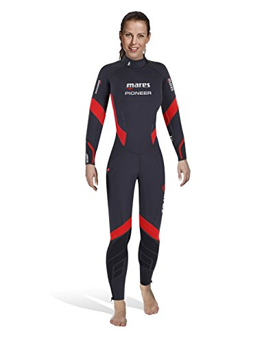 Mares Unisex-Adult Pioneer 5mm-She Dives Wetsuit, bunt, S1