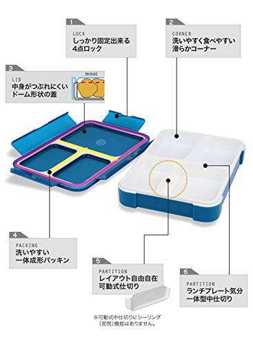 シービージャパン『薄型弁当箱フードマン600』