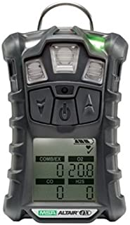 MSA Multi-Gas Detector, 4 Gas, -4 to 122F, LCD