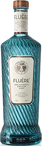 FLUÈRE - Ginebra alternativa sin alcohol, alcohol destilado sin alcohol floral, 700 ml