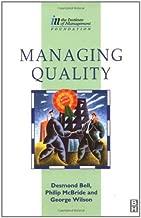 Managing Quality (Institute of Management Diploma)