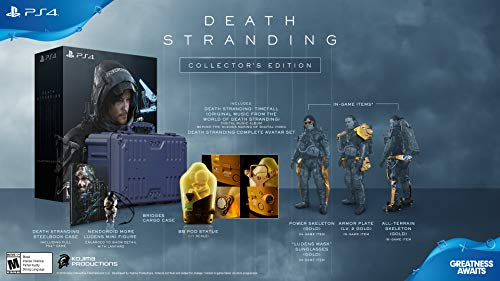 Death Stranding: Collector's Edition - PlayStation 4
