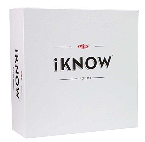 Tactic iKNOW Niños y adultos Juegos de preguntas - Juego de tablero (Juegos de preguntas, Niños y adultos, 60 min, Niño/niña, 15 año(s), 99 año(s))