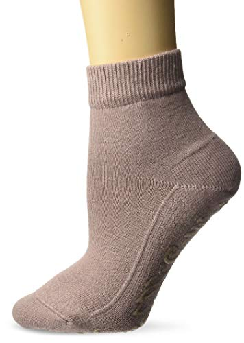 FALKE Damen Light Cuddle Pads W HP Hausschuh-Socken, Blickdicht, Rosa (Rosewood 8490), 39-42
