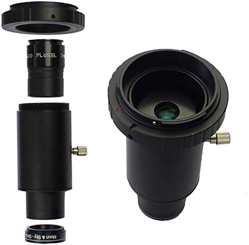 DoubleSun 1.25inch Adapter Mount-for Canon EOS/Rebel Camera and Telescope Eyepiece-CA1 Extension Tube M42 Thread T