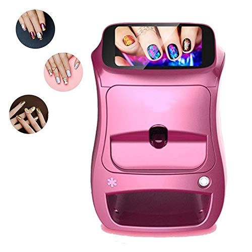 YILIAN 3D Nail Printers, Multifunction Portable All-Intelligent Nail Printers, Easy To Carry Used in Home and Salon