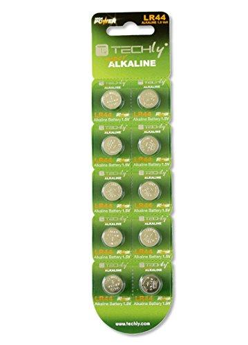 Las pilas alcalinas de botón AG13 LR44 LR1154 357 (juego de 10 piezas)