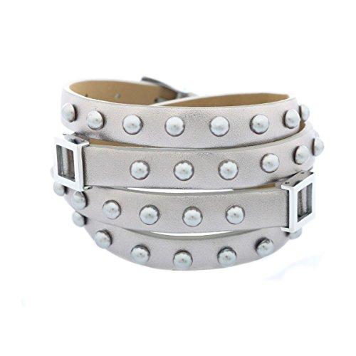 Misaki Damen Armband Silber ROCKER QCRNROCKER