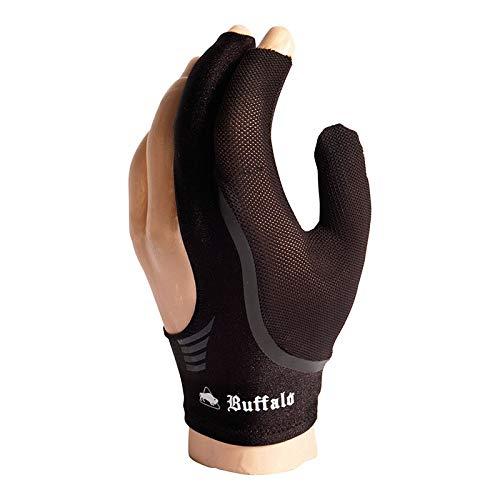 Manuel Gil Guante Billar Buffalo Reversible Globe Black s: Amazon.es: Deportes y aire libre
