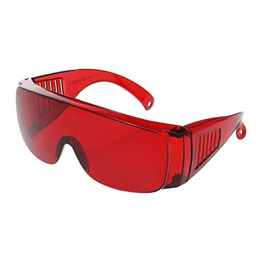 Óculos, Romacci Óculos de proteção ocular dentais Óculos de proteção ocular Óculos de proteção ocular com luz fotopolimerizável e branqueadora UV para dentista