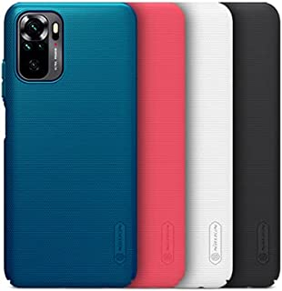 """ALSAFWAH Case For Redmi Note 10 (4G), Nillkin Super Frosted Shield Back Hard Case For Xiaomi Redmi Note 10 (4G) [[6.43"""", 2..."""