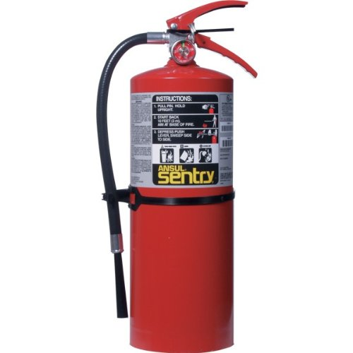 Ansul Sentry 10 lb ABC Fire Extinguisher w/ Wall Hook