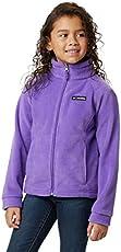 Columbia Girls Benton Springs Fleece Jacket, Grape Gum, Large