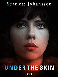 Under the skin poster art scarjo