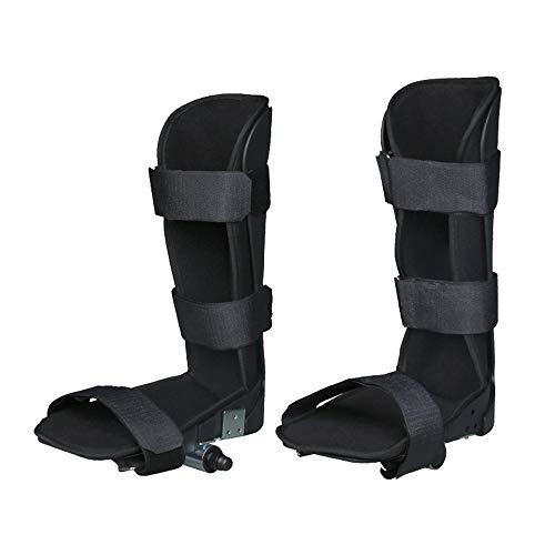JFJL Beinstütze für motorisierten Trainer mit elektronischem Pedal, Physiotherapie-Fixationsorthese für die unteren Gliedmaßen und motorisierten Trainer mit Reha-Fahrradpedal, weiche Schiene, 1 Paar