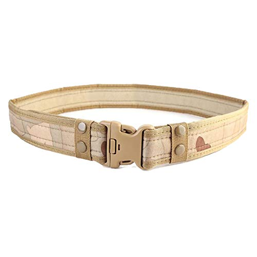 Best Review Of jweemax Adjustable Tactical Belt, Nylon Tactical Belt Outdoor Fan Hook Loop Waistband...