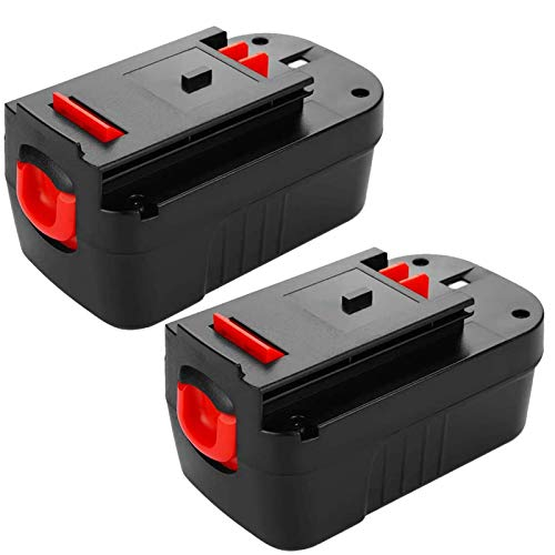 2 Pack Upgraded 3600mAh HPB18 Replacement for Black and Decker 18 Volt Battery HPB18-OPE 244760-00 A1718 FSB18 FS18FL 18V Firestorm Cordless Power Tools
