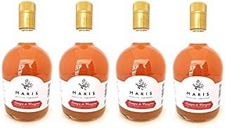 Vinagre de Manzana con la Madre sin Pasteurizar 750 ml. paquete con 4 botellas