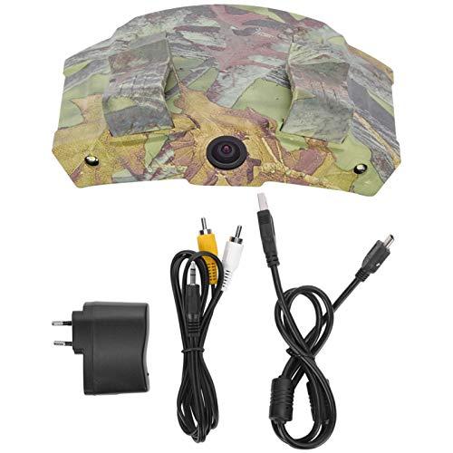 FOLOSAFENAR Cámara de ala de Sombrero con luz LED ABS, para Caza(European regulations)