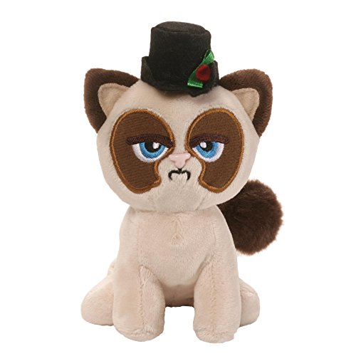 GUND Grumpy Cat Box O Grump Holiday Stuffed Animal Plush, 4.5