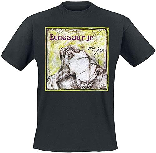Dinosaur Jr ロック バンド Tシャツ メンズ 半袖 夏服 レディース Tシャツ コットン 丸首 快適 通気 綿 おしゃれ 男女兼用 人気 ファッション