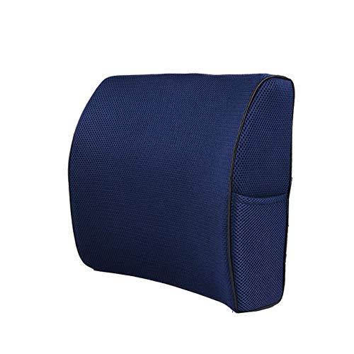 ZFLL kussen lendenwervelkussen memory foam stoelkussen ondersteunt de onderrug voor een eenvoudige houding in het Ischias-kussen van de auto Office Plane