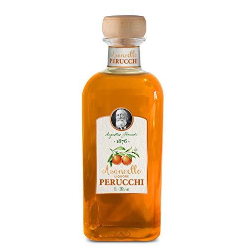 Liquore Perucchi Arancello – Digestivo – Elaborado en España – 26% Alcohol – Licor de naranja – Selección Vins&Co – 1000 ml