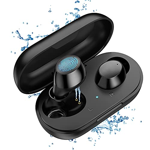 Bluetooth Earbuds,Lanteso S21 True Wireless Earbuds Noise Cancelling Bluetooth 5.2...
