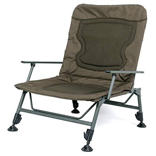 Nash KNX Armchair Wide Boy T4344 Stuhl Karpfenstuhl Sitz Angelstuhl Carpchair Chair