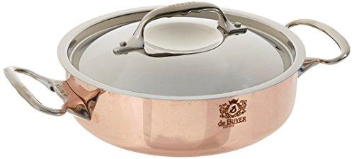 De Buyer 6241.20 - Sartén para saltear (acero inoxidable, cobre)