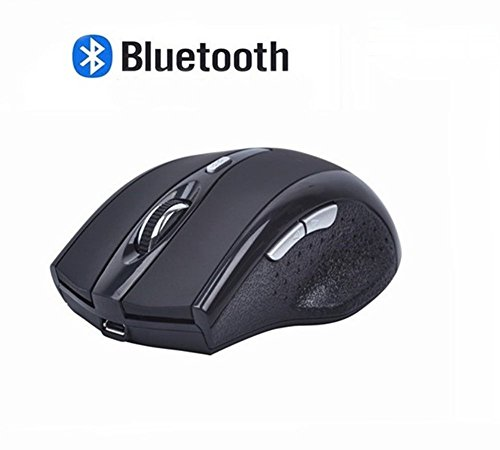 Bluetooth Mouse, EONANT 3.0 Portable Maus mit Wiederaufladbare Wireless USB Maus Leise und Ruhig Click für Notebook, PC, Laptop, Computer, Windows/Android Tablet, Macbook (Schwarz)