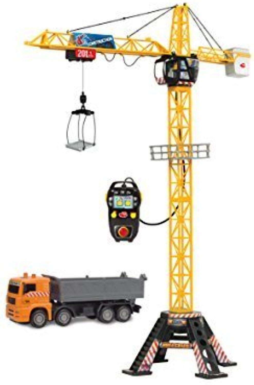 opciones a bajo precio Dickie Juguetes 48 Mega Crane and Truck Vehicle and and and Jugarset by DICKIE TOYS  salida de fábrica