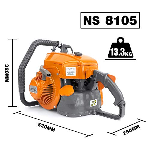 NEO-TEC Gas ChainSaw NS8105 for G070 2-Cycle Power Head 105cc 36