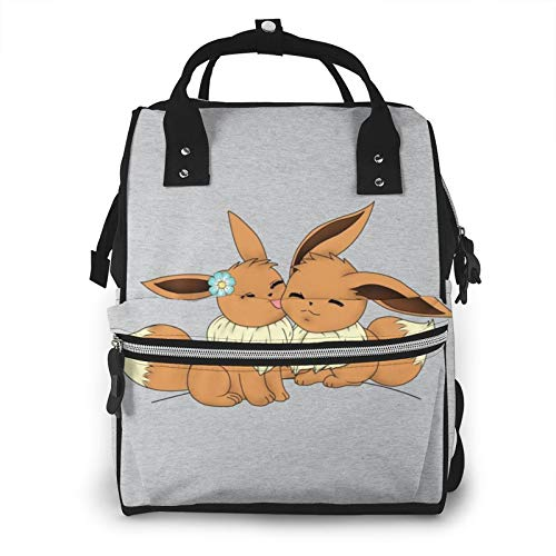 of baby lovess baby bags for moms Eevee Love Monster of The Pocket Diaper Bag Mommy Backpack Multifunctional Large Capacity Diaper Bag Baby Travel Care Bag