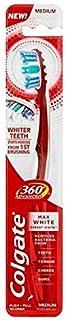 [Colgate ] コルゲート360°の高度な最大白色メディア歯ブラシ - Colgate 360° Advanced Max White Medium Toothbrush [並行輸入品]