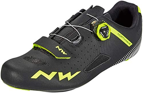 Northwave Sapatos Est NW Core Plus BLK/YLW - 41