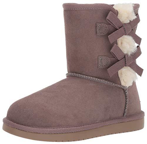 Koolaburra by UGG girls K Victoria Short Fashion Boot, Cinder, 2 Little Kid US