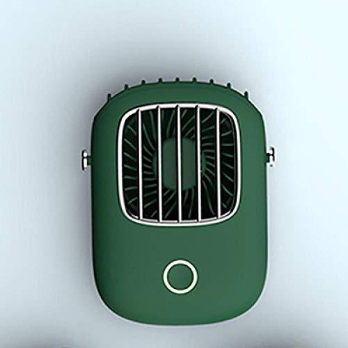 Producto moderno, lindo y simple, mini USB de mano, cuello colgante, ventilador pequeño, deportes perezosos, ventilador portátil-A_8.9x11.5cm