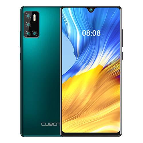 CUBOT J9 Smartphone Quad Fotocamera 6.2 Pollici 4200mAh Andorid 10 2GB RAM 16GB ROM FACE ID Dual SIM GPS 3G Cellulare Verde