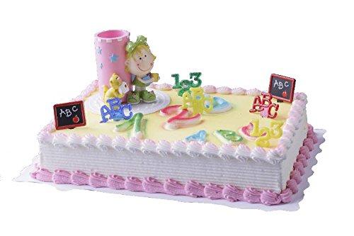 Cake Company Tortendeko Schulanfang Stiftbecher Mädchen