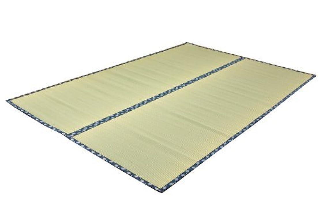 備品鋼不適イケヒコ い草 上敷き カーペット 1畳 国産 双目織 『ほほえみ』 江戸間1畳 (約88×176cm)
