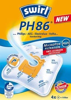 4 Swirl PH86 Staubsaugerbeutel für AEG-Electrolux AAM Serie AirMAX von Staubbeutel-Profi®