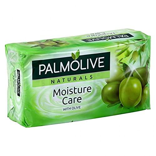 Palmolive Naturals Moisture Care With Olive par 6 Savons de 90g (lot de 4 soit 24 savons)
